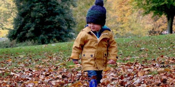 Imagen post como vivir el otoño con los más pequeños